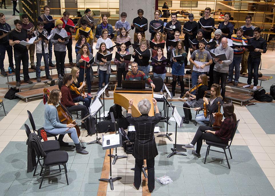 Le Chœur de la Faculté de musique et l'Atelier de musique baroque - Université Laval