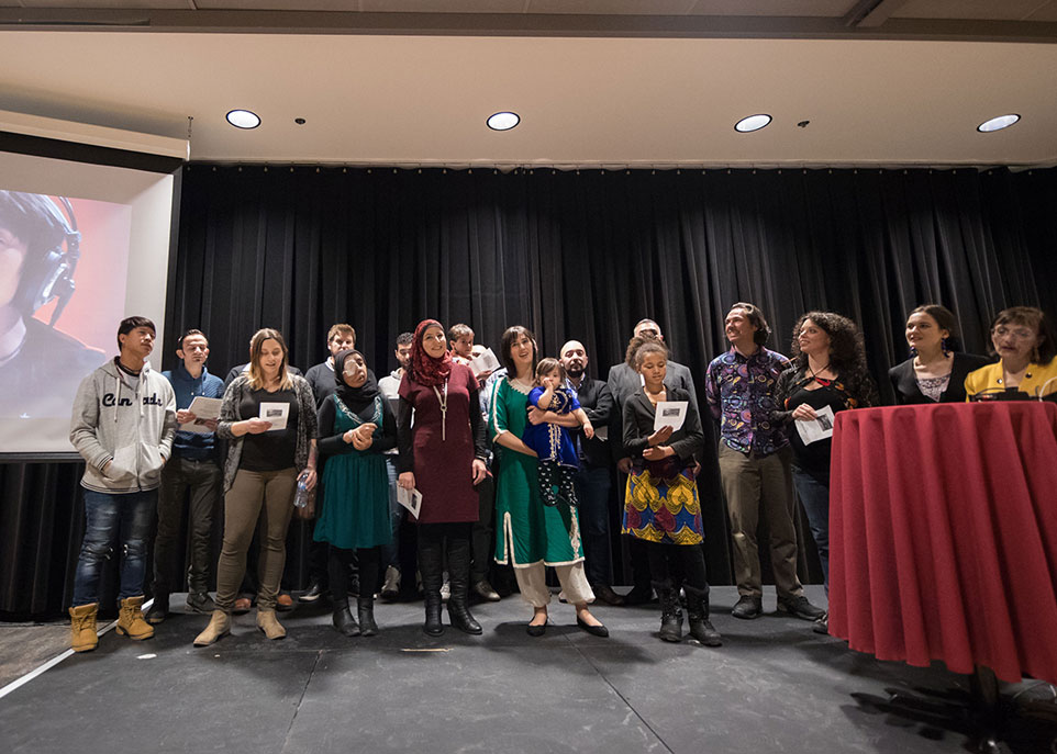 Le collectif Chantons ensemble