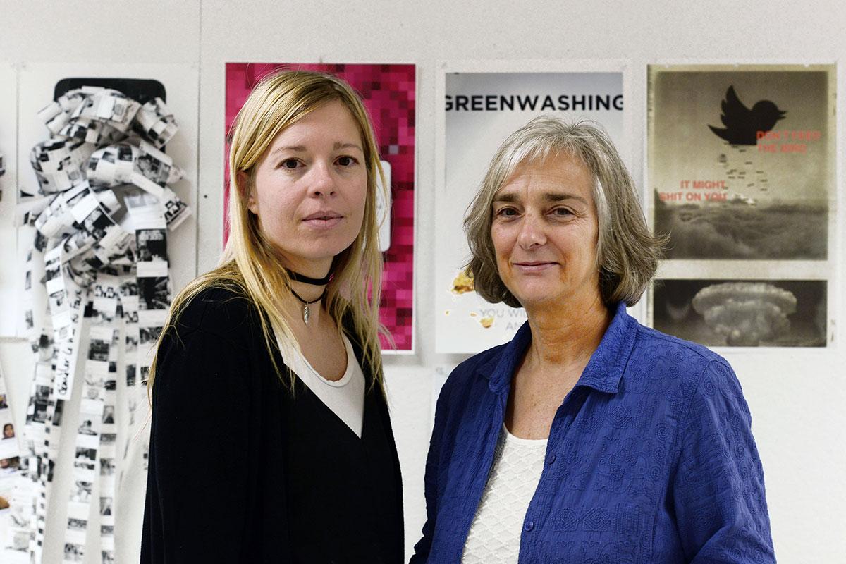 Maude Bouchard et Sylvie Pouliot, Credit -Marc Robitaille