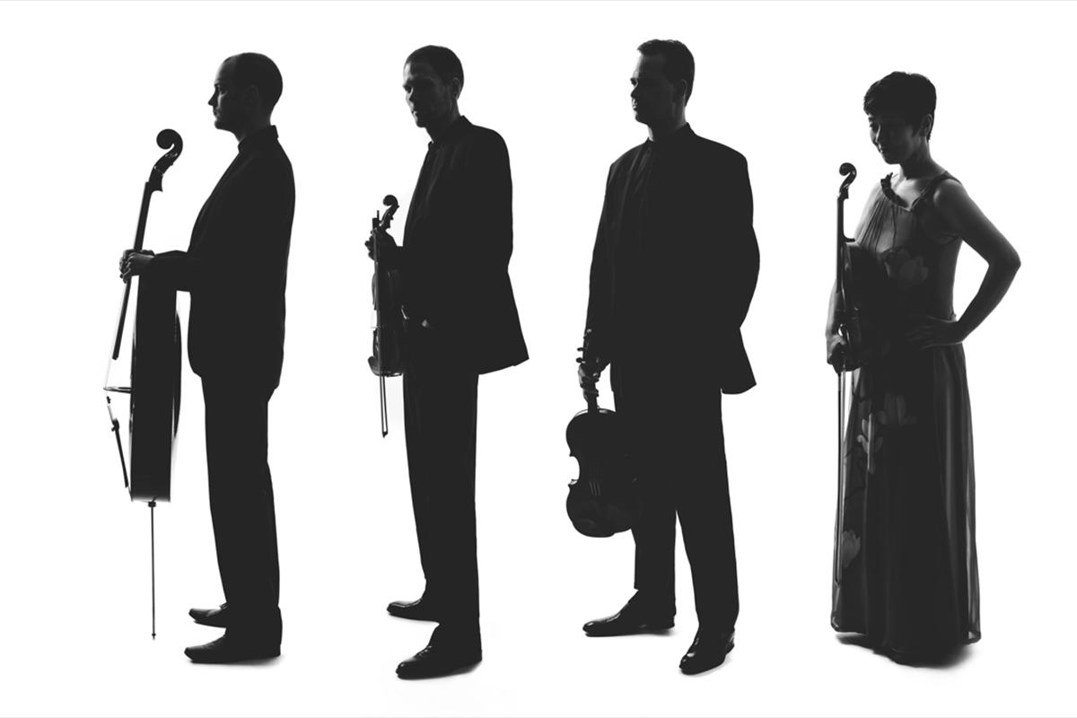 Le Quatuor Arthur-LeBlanc: Ryan Molzan, Brett Molzan, Jean-Luc Plourde et Hibiki Kobayashi