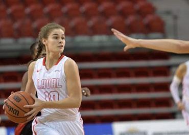 Le Rouge et Or Basketball Féminin Vs UQAM