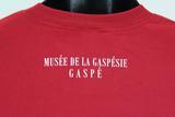 T-shirt La Gaspésienne #20 pour homme rouge